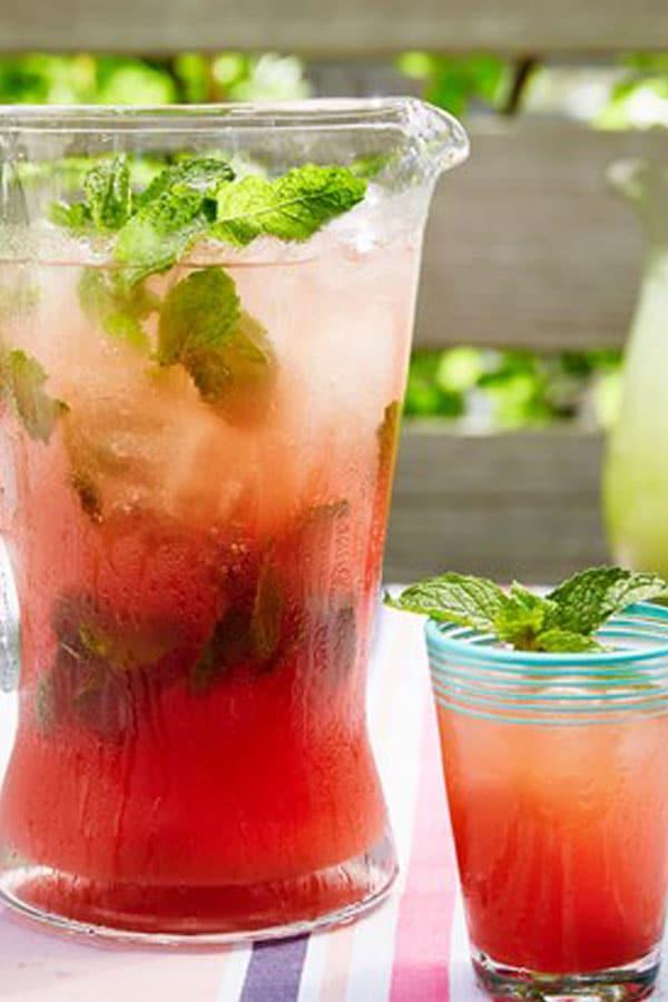 Watermelon Mint Agua Fresca
