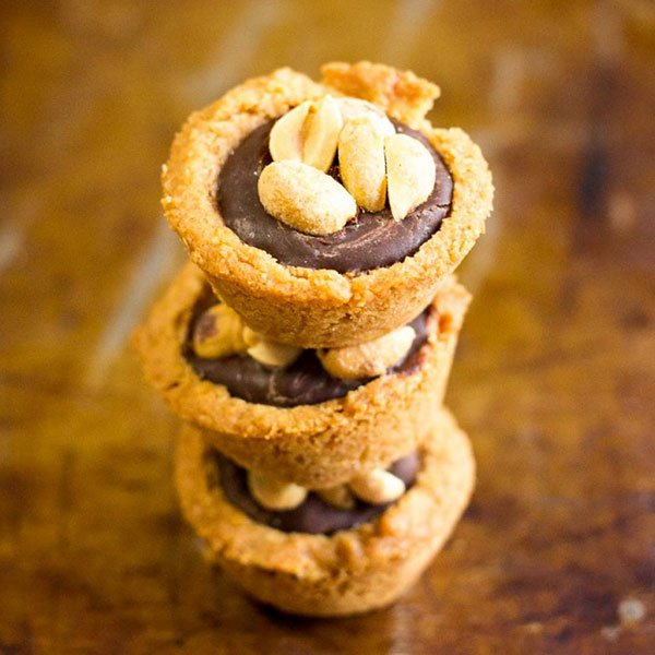 Keto Peanut Butter Cup Cookies
