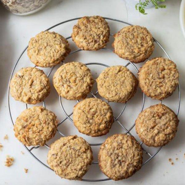 Oatmeal Keto Cookies