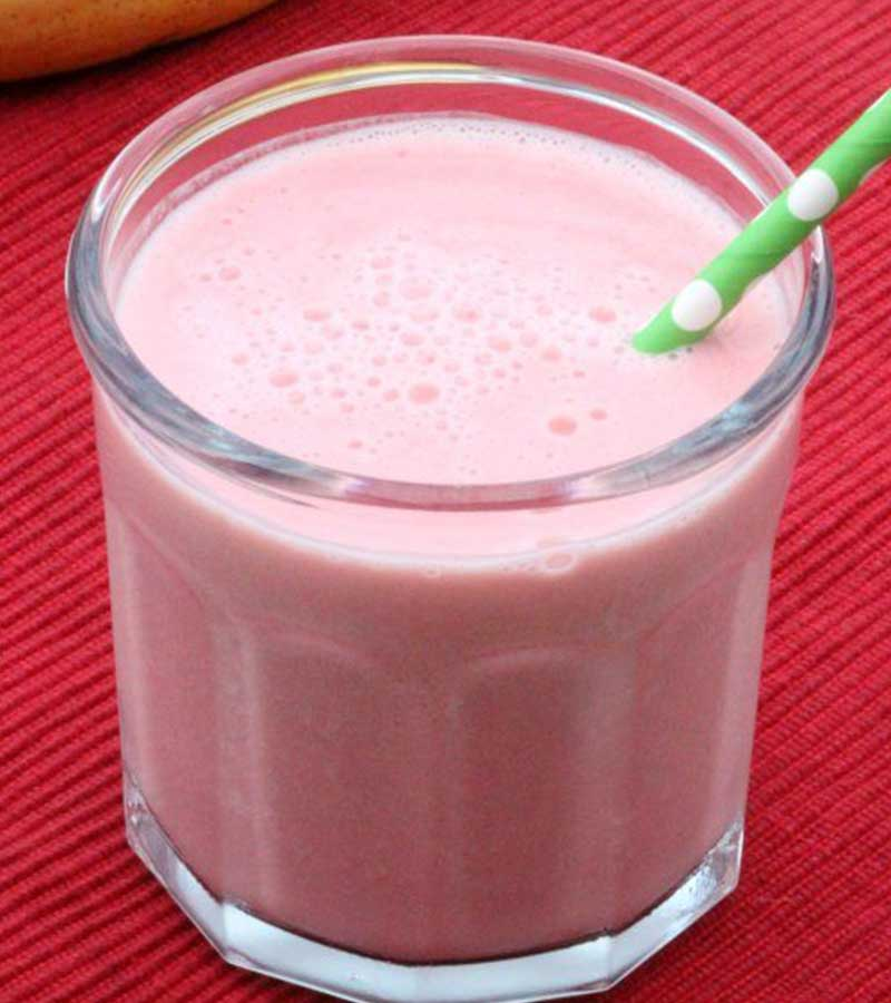 Strawberry Banana Yogurt Smoothies