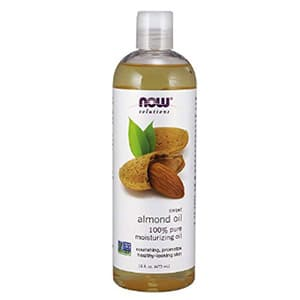 now solutions healthy almond oil