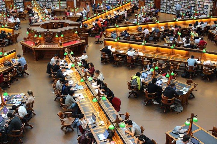 create a dedicated study space